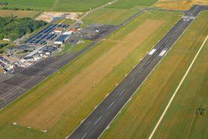 Nouvelle piste en herbe de l'aéroclub