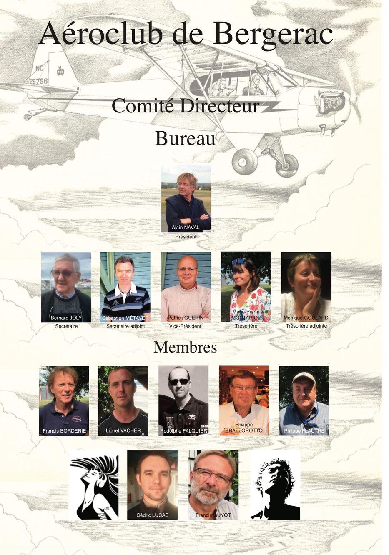 Comité Directeur Aero club 2018