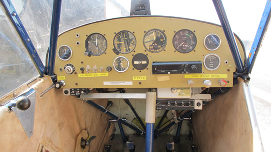Tableau de Bord du Piper J3