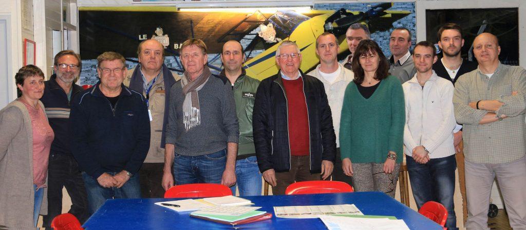 Comité Directeur 2016 de l'Aéroclub de Bergerac